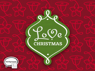 LoveChristmas  christmas ornaments calligraphy frames borders font typeface star bell kateliev