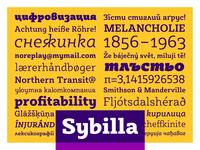 Sybilla - Humanist slab