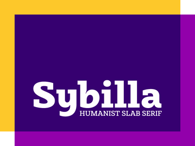 Sybilla - Humanist slab bulgarian cyrillic display egyptian friendy headline humanist slab serif upright cursive kateliev