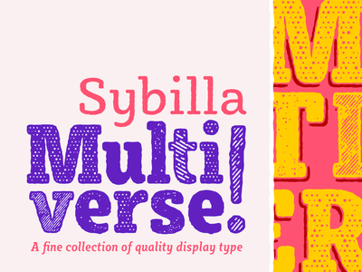 Sybilla Multiverse decorative hatch engraved rough illustration humanist slab serif bulgarian type-family cyrillic type-design kateliev font typeface