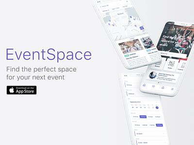 EventSpace branding concept design systems ui vector app design sketch
