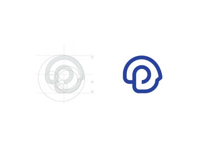 P head logo symbol symbol logo informatic it p head
