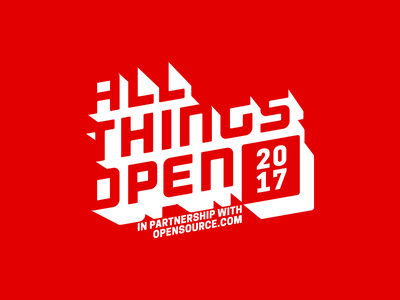 All Things Open Logo branding logo conference ato all things open
