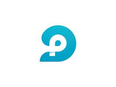 Final P Mark health tech diabetic blood glucose diabetes glucose health p logo branding