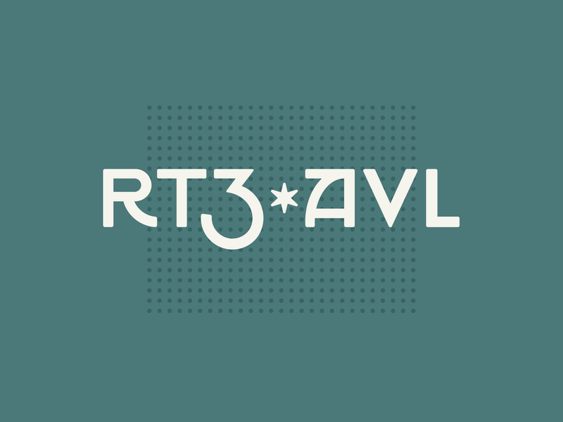 RT3 • AVL craftsman asheville branding logo wordmark
