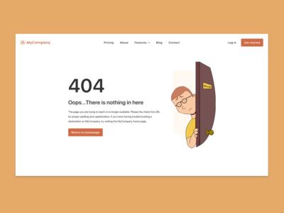 404 Page #008 #DailyUI