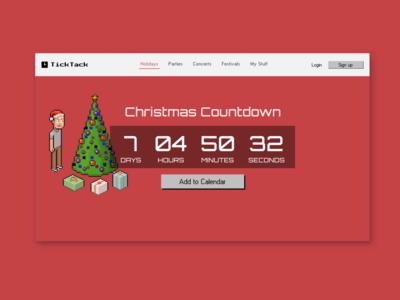 Countdown Timer #014 #DailyUI
