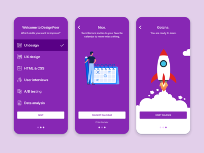 Daily UI 23 — Onboarding