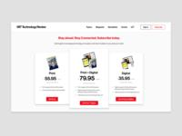 Daily UI 30 — Pricing