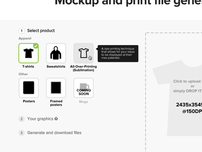 Mockup and print file generator ~ 2.0