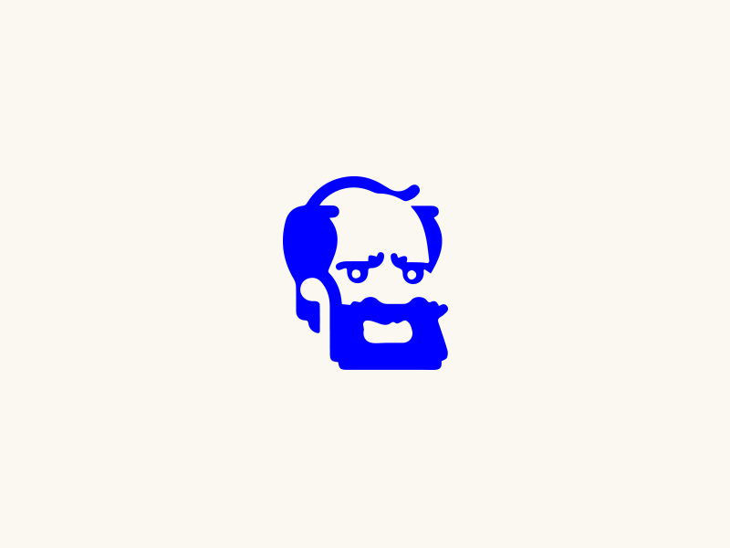 dude 01 character blue face
