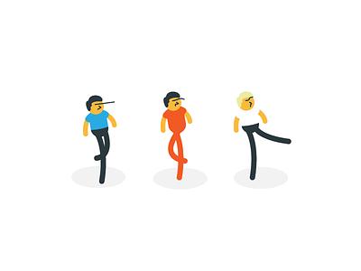 D.A.N.C.E. illustrator illustration characters dance