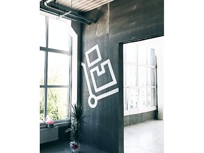 03 PRINTFUL WALL DECS   OOO Series desing email vector house building dots printful illustration line stroke