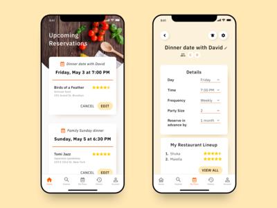 Earlybird: A Restaurant Reservations App