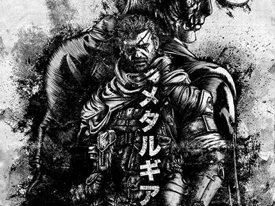 Metal Gear Solid V Illustration for Konami