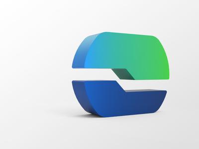 Microsoft Edge Chromium 3D Icon