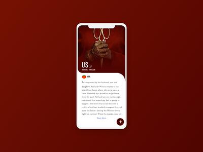 Movie App Redesign lfl fff feature explore follow redesign movies app movies movie brand illustration ui app mobile ios minimal flat design clean