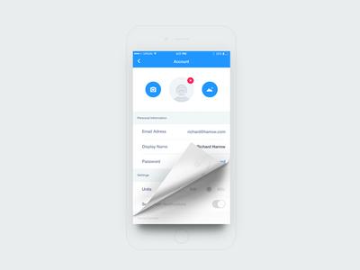 Bro Alliance - Profile Edit Screen meters km password modify change avatar connect profile