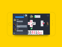 Gambling Chat Screen