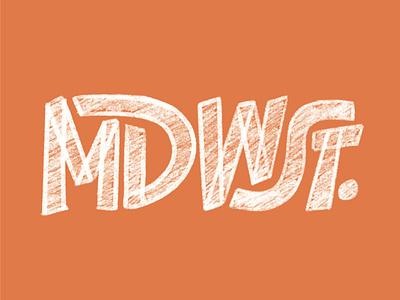 MDWST sketch procreate hand lettering lettering design