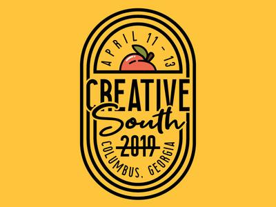 Creative South Badge