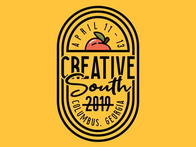 Creative South Badge logo badge georgia columbus cs19 cs creative south