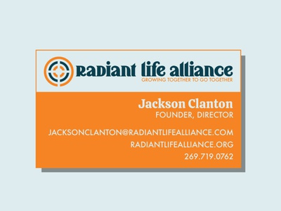 Radiant Life Alliance Business Card