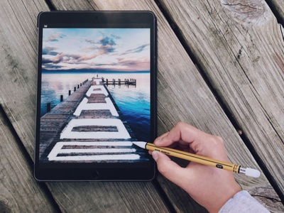 Wandering Wednesday | Tahoe photography pencil dock lake tahoe lake procreate ipad travel hand lettering lettering design