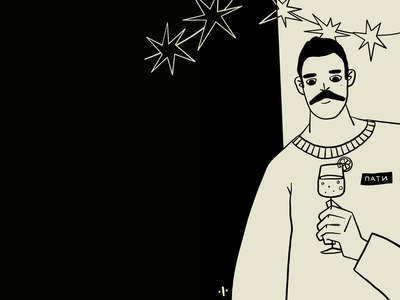 Пати illustrator character art procreate illustration