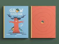 Grow Your Oak Children's Book kids design illustration childrens art childrens book illustration childrens book