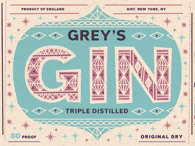 Grey Sans Hero Image fonts fonts.com gin illustration