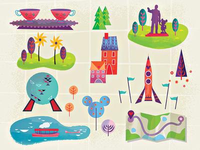 Disney Graphic Elements