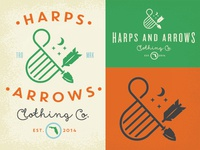 Harps & Arrows