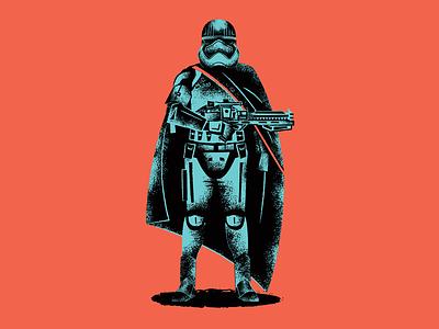 Captain Phasma illustration force the force awakens star wars