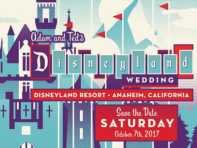 Disney Save The Date epcot mickey walt small world walt disney world disney disneyland