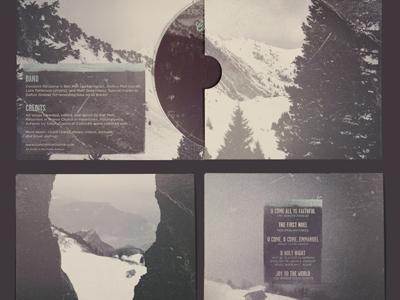 Come,  Emmanuel (Almost Done) album cd art christmas band vintage