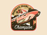 Monorail Crawl Champion