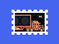 Main St. Post Office Stamp Collection 3|16