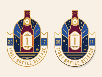 First Bottle Release made in america usa south beer barrel lapel