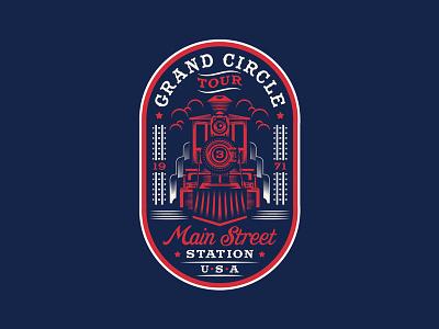 Grand Circle Tour magic kingdom railroad train disney magic