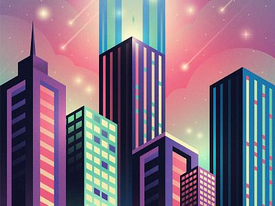 Unbound Poster christian christ worship neon city
