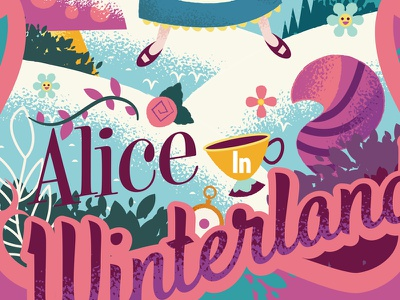 Alice In Winterland alice in wonderland disney wonderland alice