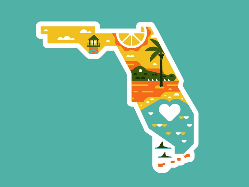 Florida Relief badge mickey disney explore adventure patch