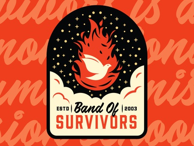 Band Of Survivors Patch