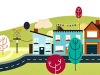 City Spot Illustration 2