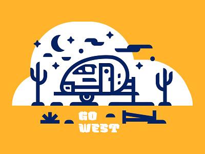 GO West cactus west airstream trailer travel