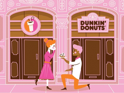 What She REALLY Wants - Dunkin' Donuts valentines day love coffee doughnut dunkin donuts