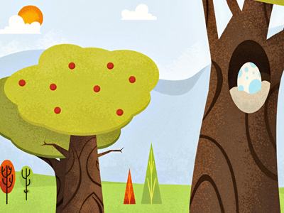 Tree Web Banners illustration trees wilderness forest web texture