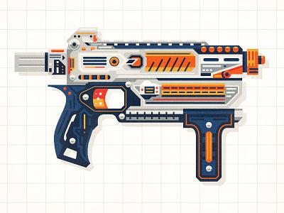Nerf toy play gun nerf