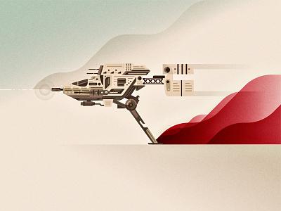 V-4x-D Ski Speeder wars star